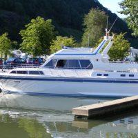 Yachthafen Marina Mittelmosel in Neumagen - Dhron mit Gast- und Dauerliegeplätzen