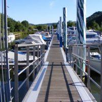 Yachthafen Liegeplätze Marina Mittelmosel in Neumagen - Dhron